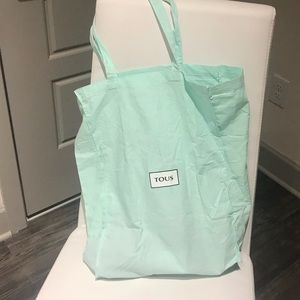 Authentic Tous fabric tote